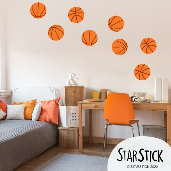 vinilo pelotas de basquet