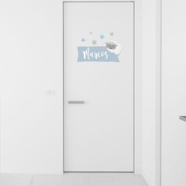 Ovejitas - Nombre para puertas Vinilos para puertas Vinilos infantiles personalizables con uno o dos nombres. Perfectos para decorar las puertas de las habitaciones. Éste modelo se puede adquirir en tres colores distintos. Tamaño del vinilo (ancho x alto) Lámina 1 nombre: 30,5 x 21 cm Lámina 2 nombres: 30,5 x 27 cm     vinilos infantiles y bebé Starstick