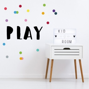 Play - Vinilos decorativos de pared