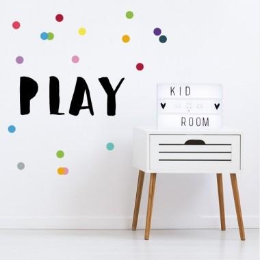 Play - Vinilos decorativos de pared