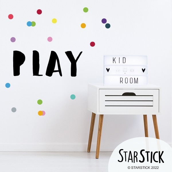 PLAY - Stickers décoratifs