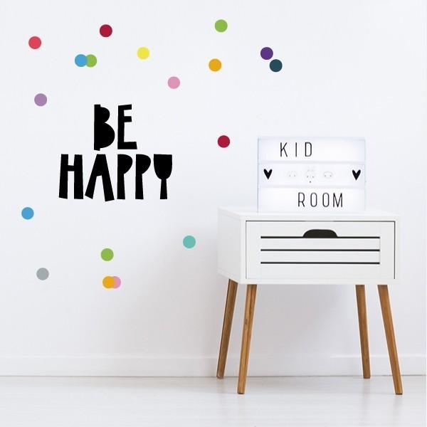 Be happy - Stickers décoratifs