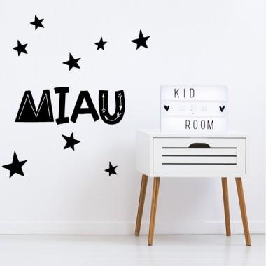 Miau... - Stickers décoratifs