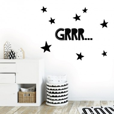 Grrr... - Vinilos decorativos de pared
