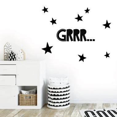 Grrr... - Vinils decoratius de paret