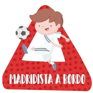 Madridista a bordo - Adhésif pour voiture