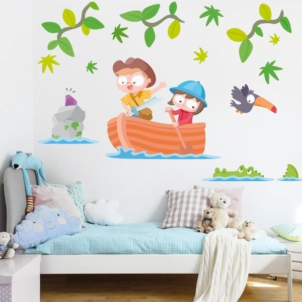 Enfants explorateurs - Stickers pour enfants