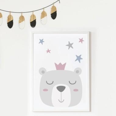Toiles déco enfant - Petit ours