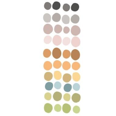 Dots irrégulier. Nature - Sticker muraux