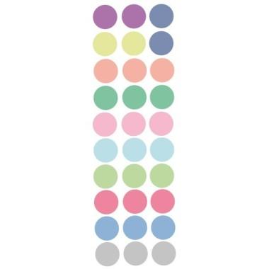 Confeti de colores - Vinilo infantil de topos