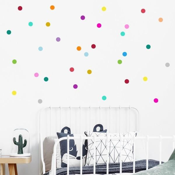 Confetti - Sticker muraux chambre bébé