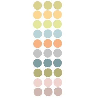Confeti de colors. Nature - Vinil infantil de topos