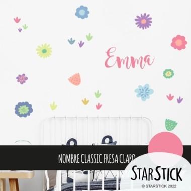 Vinyle décoratif. Fleurs lilas - Stickers muraux décoratifs