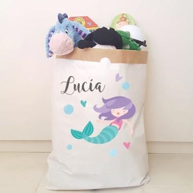 Saco organizador de papel - Sirena