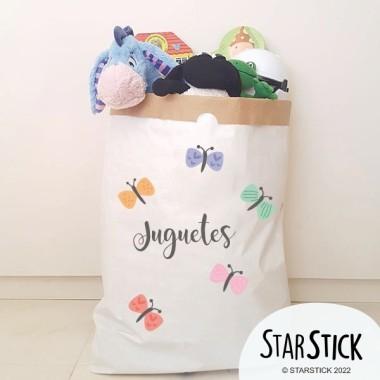 Paperbag - Papillons - Sac en papier