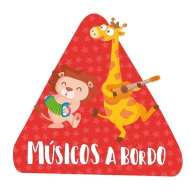 Músicos a bordo –  Bebé a bordo triángulo para coche