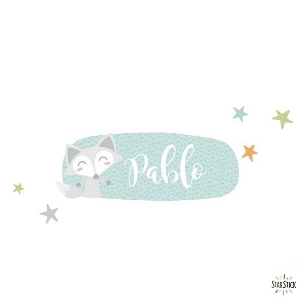 Tren amb animals - Vinil amb nom per a portes Vinils per portes amb nom Vinil per portes personalitzable amb un o dos noms. Vinils decoratius a joc amb els murals de paret. Una idea genial per decorar de manera original les portes de les habitacions dels nens. Mida de la làmina i del muntatge 1 nom:30x20 cm 2 noms: 30x24 cm  vinilos infantiles y bebé Starstick