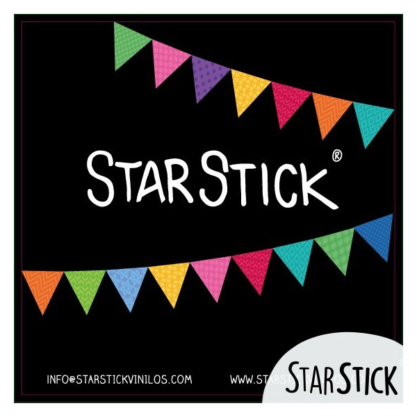 LAMINADO EXTRA Collection Stickers enfants - tous-  vinilos infantiles y bebé Starstick