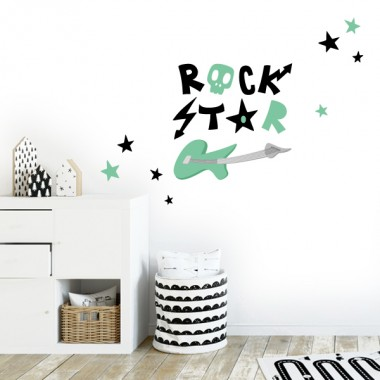 "Vinil ""Rock Star"" - Vinils decoratius"