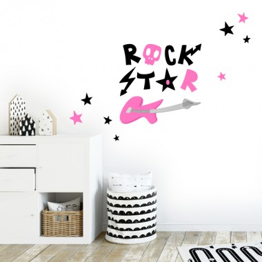 "Sticker ""Rock Star"" - Stickers décoratifs"