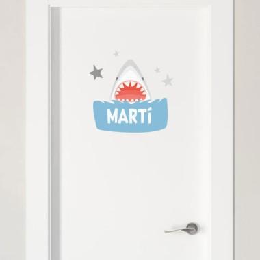 Súper tauró - Nom per a portes