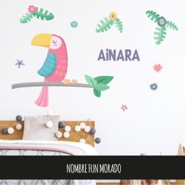 Stickers décoratif - Le toucan présumé