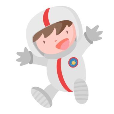 Astronauta a l'espai - Vinil infantil Vinils Nen Vinil decoratiu de paret amb un astronauta i el seu transbordador. Vinil infantil ple de petits detalls, ideal per convertir una paret en un autèntic espai.   Mides aproximades del vinil enganxat (ample x alt) Bàsic: 70x50 cm Petit:110X55 cm Mitjà:160X75 cm Gran:225x110 cm Gegant:300X175 cm  AFEGEIX UN NOM AL VINIL DES DE 9,99 €  vinilos infantiles y bebé Starstick