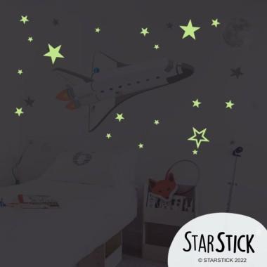 Estrellas fluorescentes - Vinilo decorativo