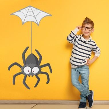Araignée poilue - Sticker pour enfants