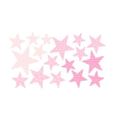 Pack supplémentaire - Étoiles rose bébé