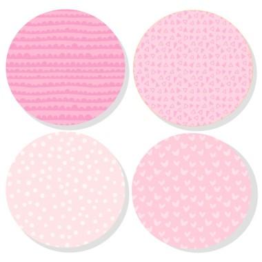 Extra Pack - Estrelles rosa nadó