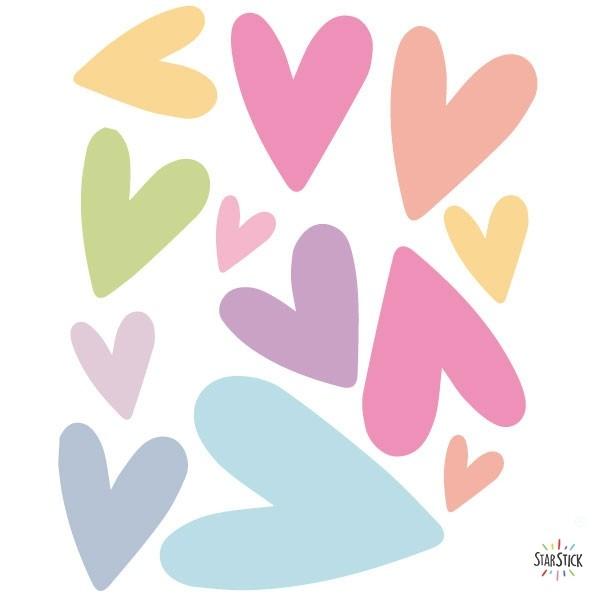 Extra Pack - Cors de colors Extra Packs L'extrapack inclou: 10 cors. Cada cor mesura entre 2 i 13 cm Mida de la làmina: 20x25 cm vinilos infantiles y bebé Starstick