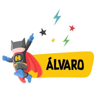Superhéroe batboy - Nombre para puertas. Vinilo infantil