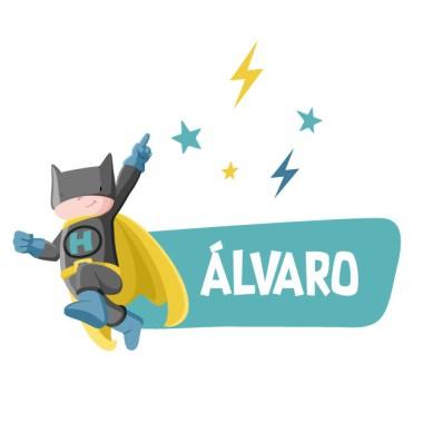 Superhero Batboy - Sticker nom de porte