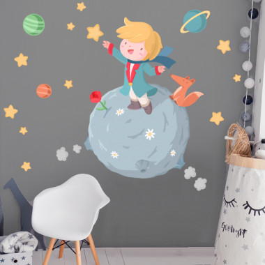 Vinilo infantil para bebé - Pequeño príncipe