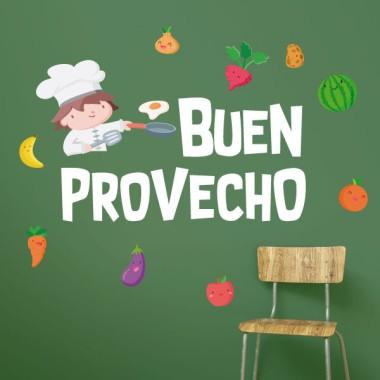 Bon appétit - Stickers muraux enfants