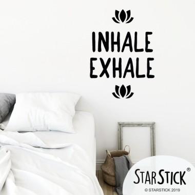 Inhala Exhala - Vinils decoratius cites i frases cèlebres