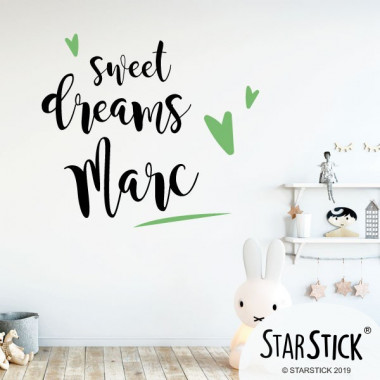 Sweet Dreams - Stickers phrase