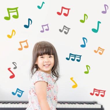Notas musicales - Vinilos infantiles decorativos