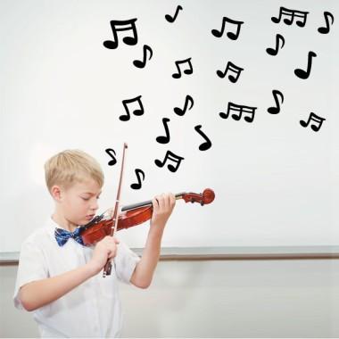 Notes de musique - Vinyle pour enfants