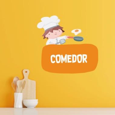 Cuisiner - Affiche de signalisation