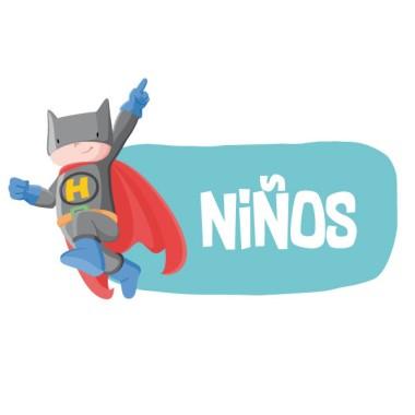 Superheroi batboy - Cartell de senyalització. vinil infantil
