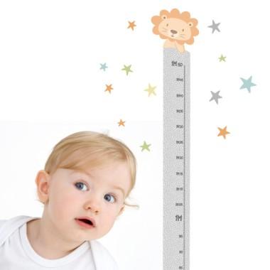 Vinil infantil mesurador - Tren amb animals