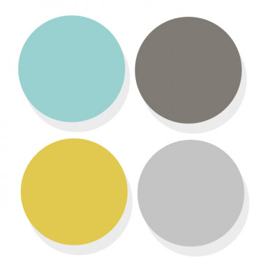 Triangle combinaison Elegant - Sticker muraux