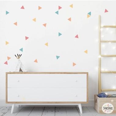 Triangles combinació Summer - Vinils de paret