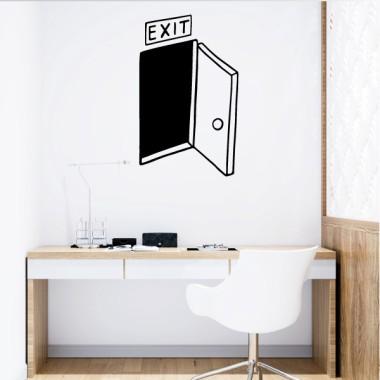 EXIT - Vinilos de pared para el hogar