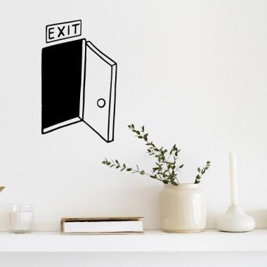 EXIT - Sticker muraux pour la maison
