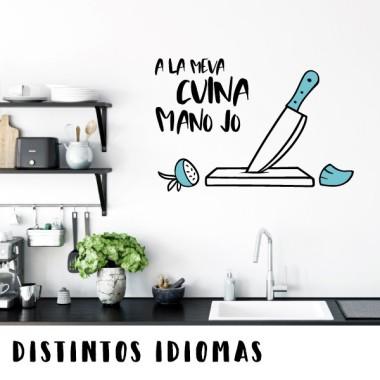 En esta cocina, mando yo - Vinilos decorativos para cocinas