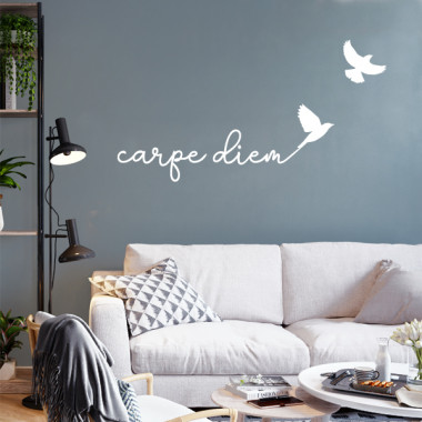 Carpe Diem - Stickers maison avec phrases