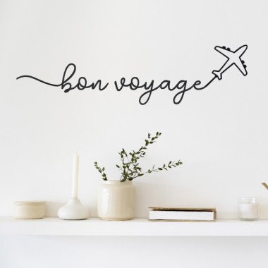 Bon voyage - Vinilos decorativos de pared